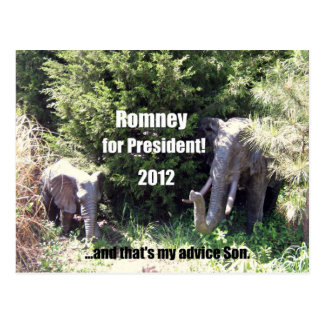 Romney for President - 2012 Postcard