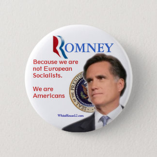 Romney for President 2 Inch Round Button