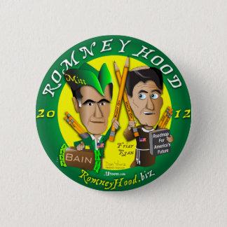 Romney Hood 2 Inch Round Button