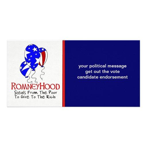 Romney Hood Photo Card