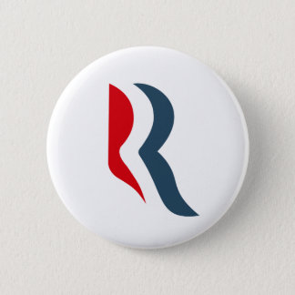 Romney icon 2 inch round button