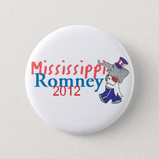 Romney MISSISSIPPI Button