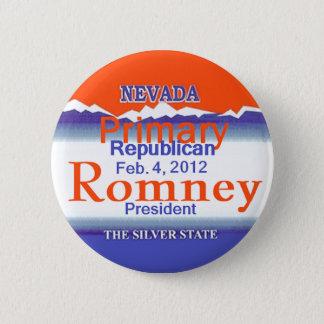 Romney Nevada 2 Inch Round Button
