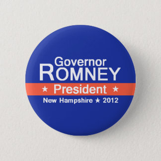 Romney NH 2012 Button