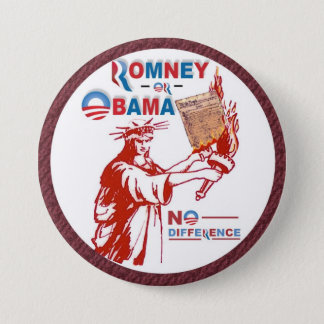 Romney OR Obama 3 Inch Round Button