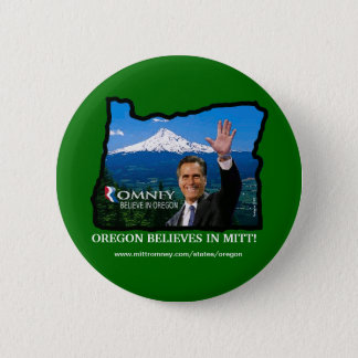 Romney Oregon button