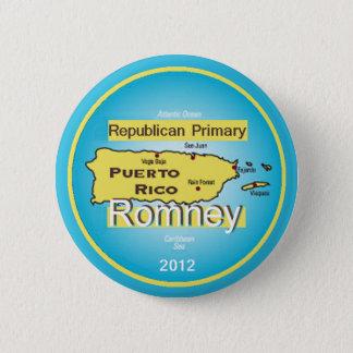 Romney PUERTO RICO Button