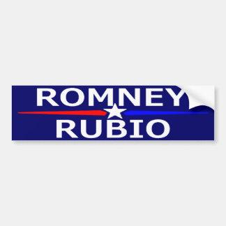 ROMNEY RUBIO Bumper Sticker