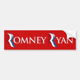 ROMNEY RYAN 2012 BANNER.png Bumper Sticker