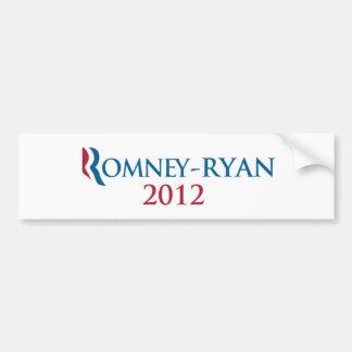 Romney/Ryan 2012 bumper sticker