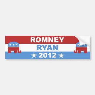 Romney Ryan 2012 Bumper Sticker