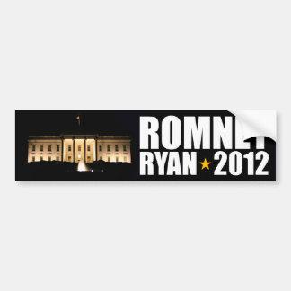 Romney - Ryan - 2012 Bumper Sticker