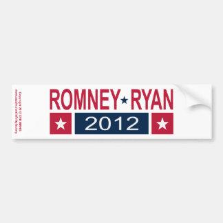 Romney Ryan 2012 Bumper Stickers