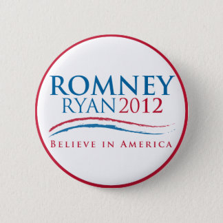 Romney-Ryan 2012 Button