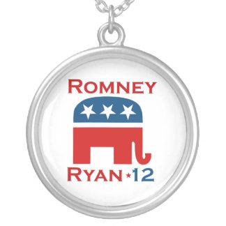 ROMNEY RYAN 2012 GOP NECKLACES