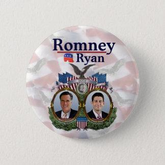 Romney Ryan 2012 Jugate 2 Inch Round Button