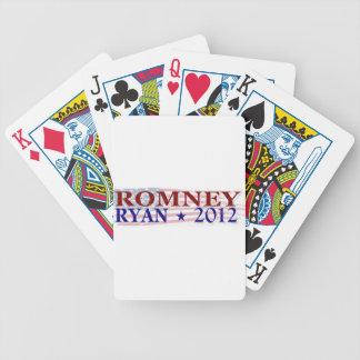 ROMNEY RYAN 2012 president Poker Deck