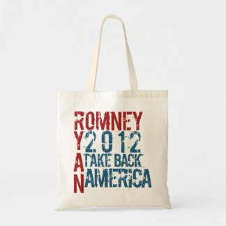 Romney Ryan 2012 Tote Bag