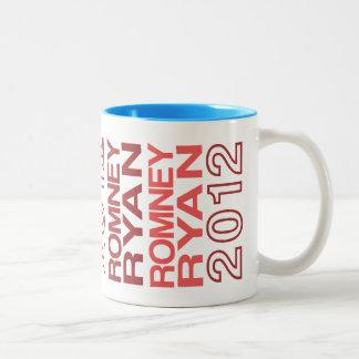 Romney Ryan 2012 Two-Tone Coffee Mug