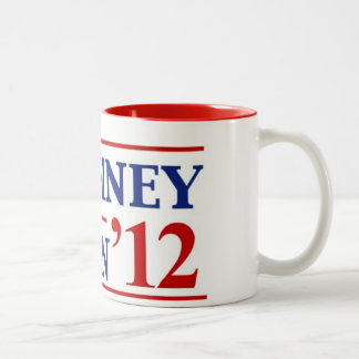 Romney Ryan 2012 Two-Tone Mug