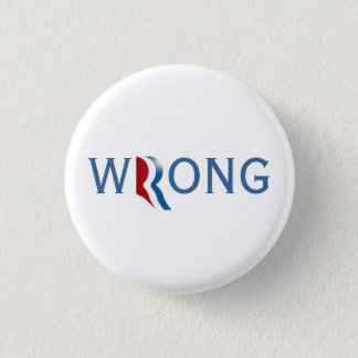 Romney Ryan 2012 - Wrong Button