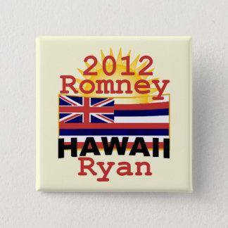 Romney Ryan 2 Inch Square Button