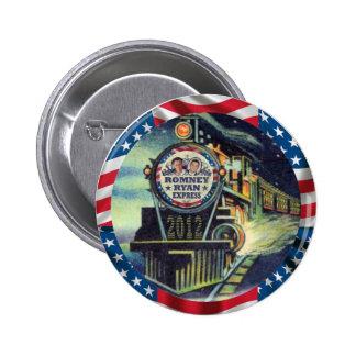 Romney Ryan Express 2012 2 Inch Round Button