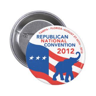 Romney Ryan For President 2012 2 Inch Round Button