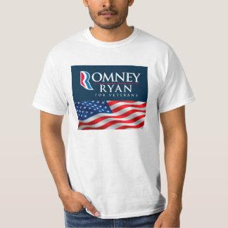 Romney Ryan For Veterans T-Shirt