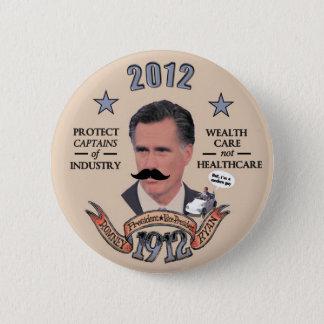 Romney & Ryan in 1912 2 Inch Round Button