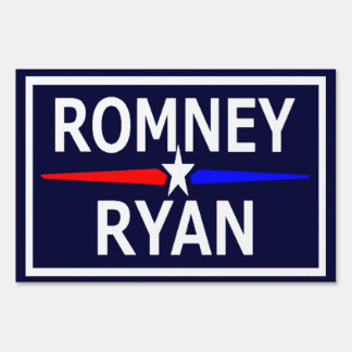 Romney Ryan Lawn Sign