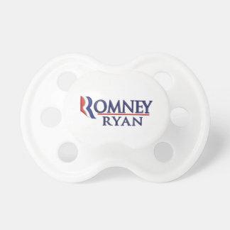 Romney Ryan Political Baby Pacifier