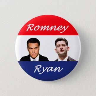 Romney Ryan Retro 2 Inch Round Button