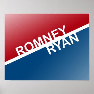 ROMNEY RYAN RETRO BLOCK.png Poster