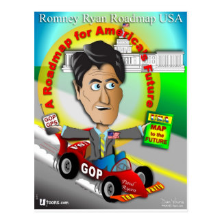 Romney Ryan Roadmap Postcard