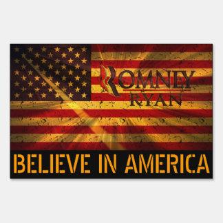 Romney / Ryan Sign