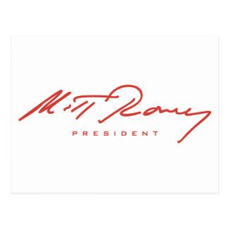 Romney Signature Gear Postcard