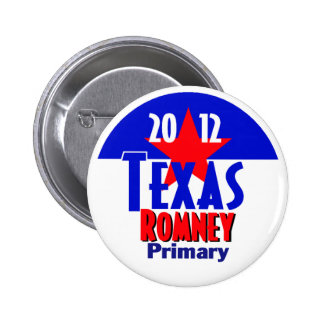 Romney TEXAS Button