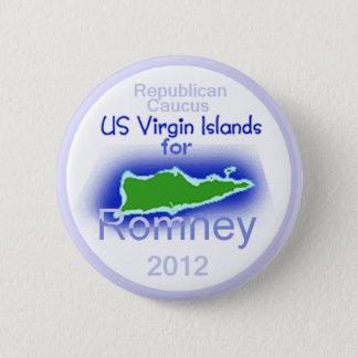 Romney VIRGIN ISLANDS Button