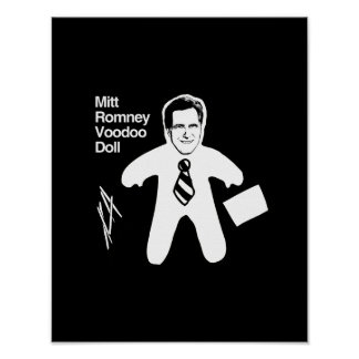 Romney Voodoo Doll png Poster
