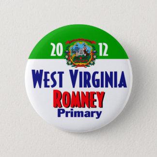 Romney WEST VIRGINIA Button