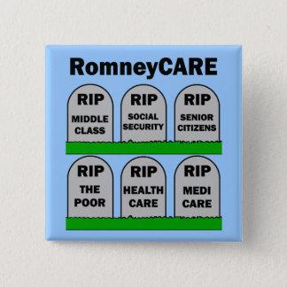 RomneyCARE 2 Inch Square Button