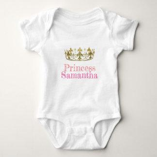 Romper Princess Samantha. (Bewerkbaar)