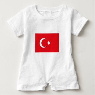Romper Turkish flag.