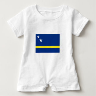 Romperpakje Curaçaose flag. Baby Romper