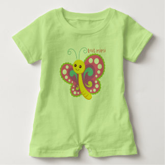 rompers baby butterfly