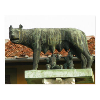 Romulus and Remus - Ancient Rome Postcard