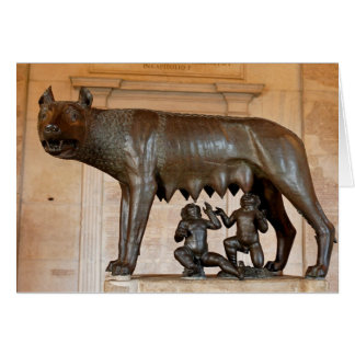 Romulus and Remus Card