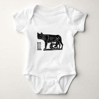 Romulus and Remus Roman Mythology Baby Bodysuit