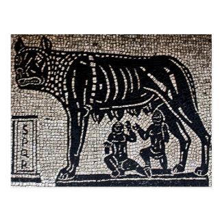 Romulus & Remus Postcard